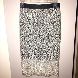 EUC Express Midi Skirt Size 2